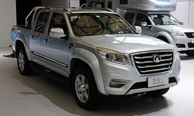 GWM showed off its Steed 6 pick-up concept at this year's Shanghai Motor Show