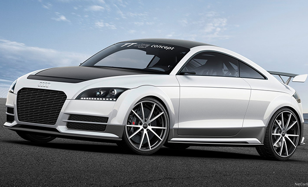 The Audi TT ultra quattro concept shaves 300 kg off the overall weight of the TT S upon which it is based