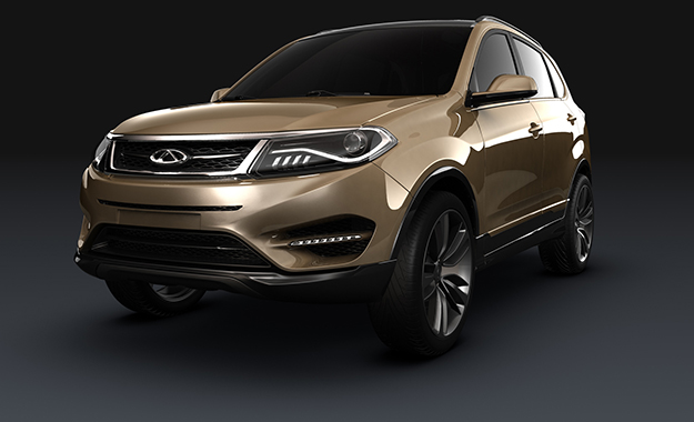 Chery's beta 5 compact SUV showcases the firm's future design language