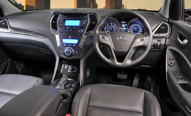 ... The Cabin Controls Are Logically Laid Out And Perceived Quality Is Very  Good. Hyundaiu0027s Latest Santa Fe ...