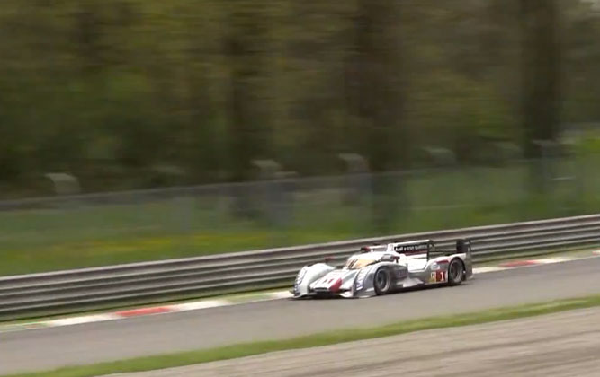 Watch An Audi Le Mans Racer Corner At 340 km/h! [video]