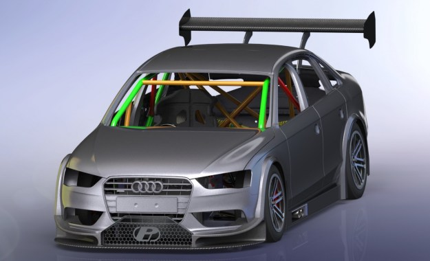 An Audi body shell is among those earmarked for the upcoming V8 Touring Car Series