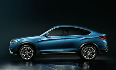 A closer look at the BMW X4 Concept