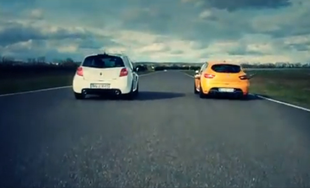 Old vs. new: Clio 3 RS vs. Clio 4 RS