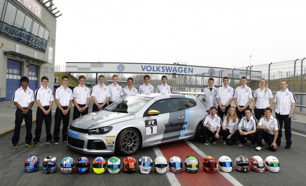 Local racers debut in Scirocco R-Cup