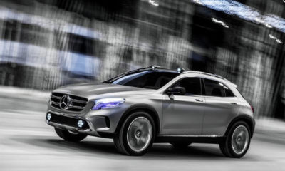 Drawing inspiration from its A-Class sibling, the GLA features dramatic styling cues to make it look more like an SUV