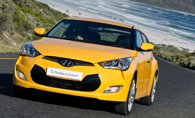 Like it or loathe it, the Hyundai Veloster's unique design turns heads