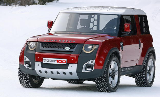 The 'Baby Land Rover' could draw styling cues from the CD100 concept and be built in India