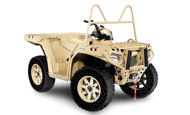 Airless tyres for ATV's