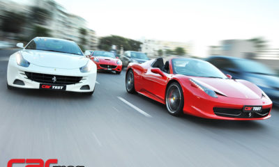 Ferrari 458 Spider, FF and California
