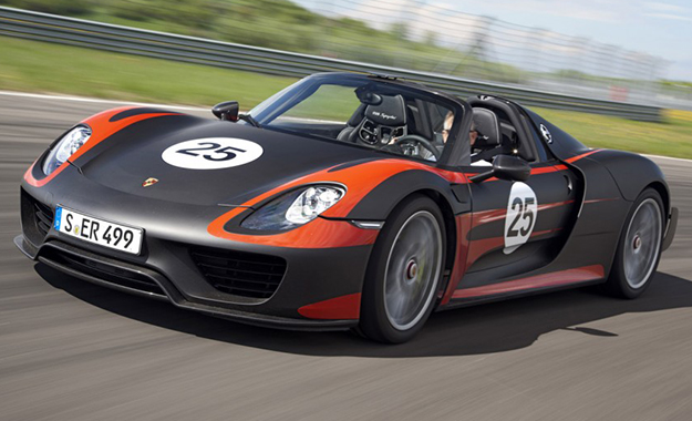 Porsche 918 Spyder: specifications clarified