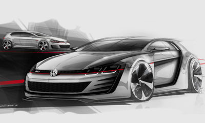 The Volkswagen Golf Design Vision GTI will pack 370 kW