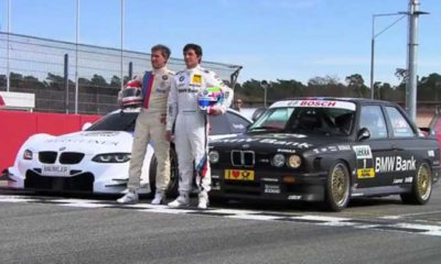 BMW DTM Legends Swop Cars For The Day [video]