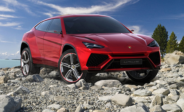 The production version of the Lamborghini Urus has been confirmed for 2017