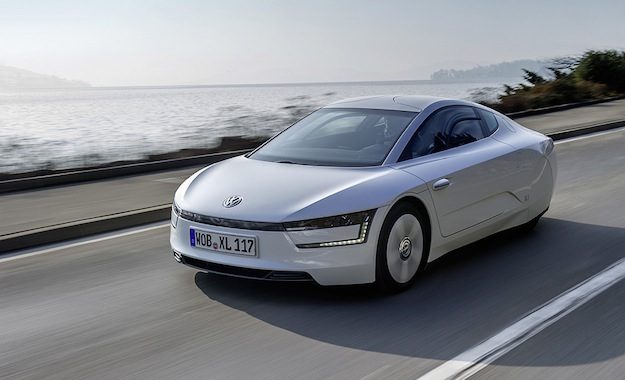 Volkswagen XL1 - claimed to be the world's most efficient production car