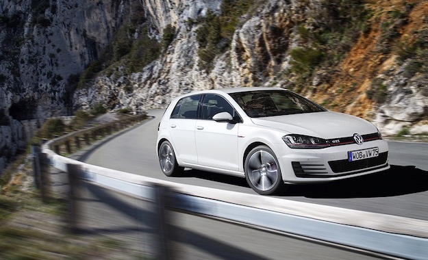 New VW Golf GTI - subtle styling, but a great drive