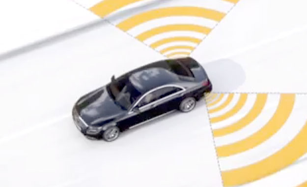 Mercedes-Benz W222 S-Class safety technology [video]
