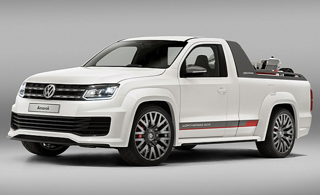 Packing 200 kW and 600 N.m from a 3,0-litre V6 TDI, the Amarok R-Style Concept will take Worthersee by storm