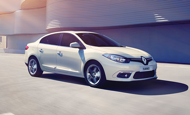 Renault has given the Fluence a more contemporary visage