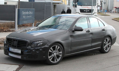 Spy photographers from auto motor und sport have captured the 2014 Mercedes-Benz C-Class in Germany