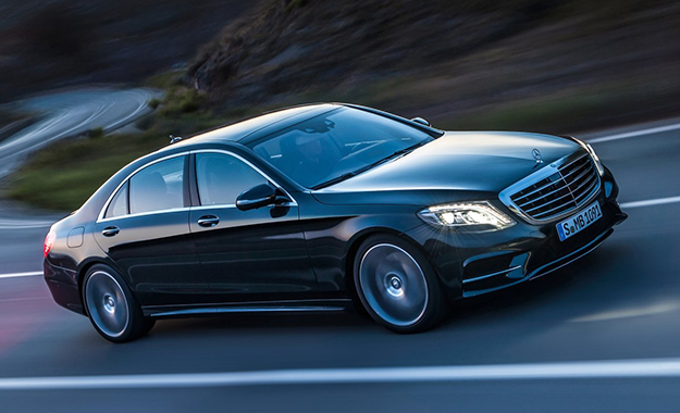 Mercedes-Benz S-Class takes to the roads and shows off its luxurious appointments