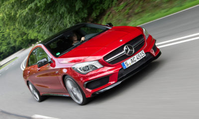 Mercedes-Benz CLA45 AMG front view