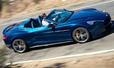 Aston Martin has lifted the lid on the Vanquish Volante