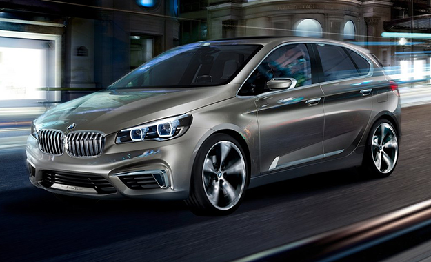 BMW will revel a more outdoor-oriented version of its Active Tourer Concept next month
