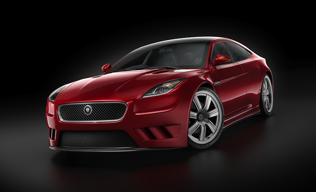 Luma Animation Studios in Johannesburg has revealed these renders of ex-editor Hannes Oosthuizen's design, dubbed the Luma XJS Concept.