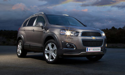 The Chevrolet Captiva has been updated for 2013