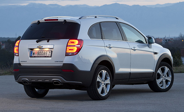 Chevrolet Captiva Refreshed For 2013 Carmag
