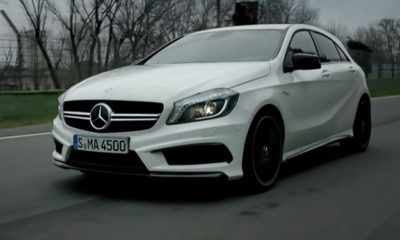 Mercedes-Benz A45 AMG in detail [video]