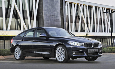 BMW 3 Series GT front three-quarter