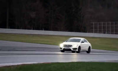 Mercedes-Benz CLA 45 AMG [video]