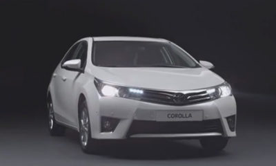 Euro-spec Toyota Corolla [video]