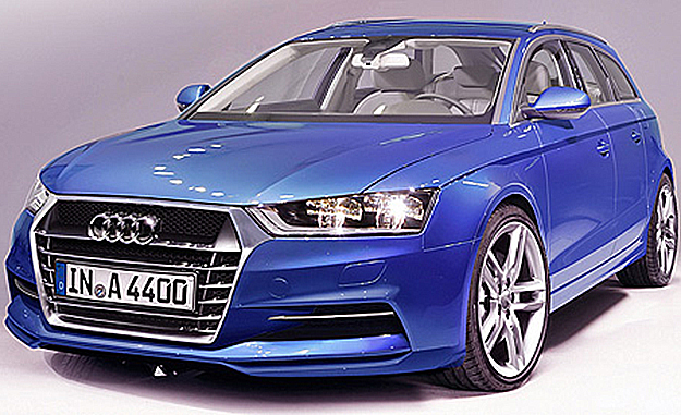The 2014 Audi A4 will feature a sharper design and will be considerably lighter than before (image from automobil produktion)