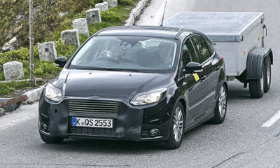 The Ford Focus is due for a facelift in 2014 - source: AutoBild.de