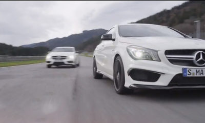 Mercedes-Benz A45 and CLA45 AMG: together at last