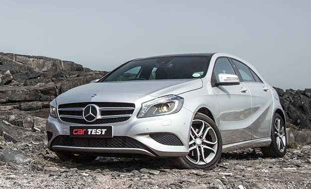 Mercedes-Benz A180 BE 7G-DCT front view
