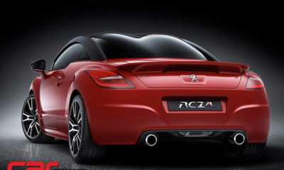 Peugeot RCZ R rear view