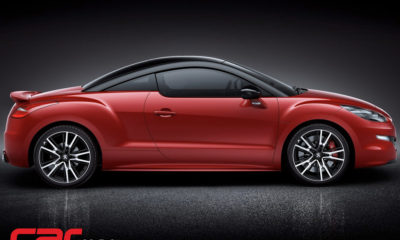 Peugeot RCZ R side view
