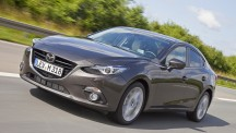 Images and details of the 2014 Mazda3 saloon have emerged on the 'web ahead of the car's year-end European release