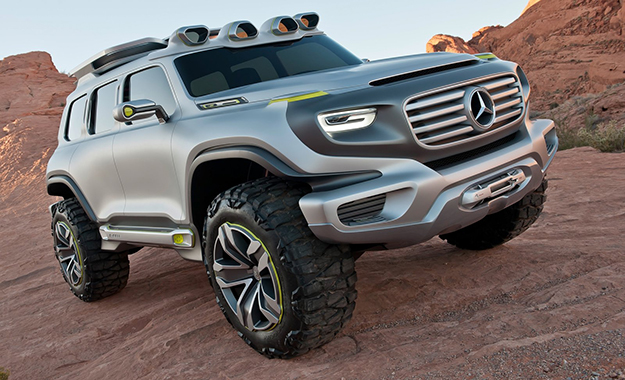 Mercedes could release a baby G-Class model pegged beneath the GLA