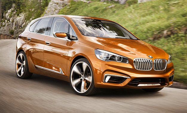 BMW's Concept Active Tourer Outdoor has been revealed
