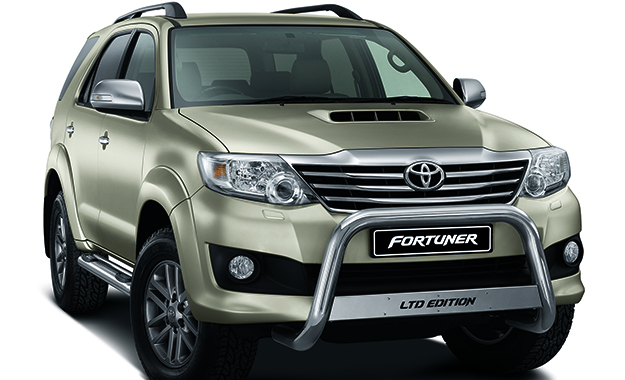The Toyota Fortuner LTD Edition places emphasis on style and generous standard specification