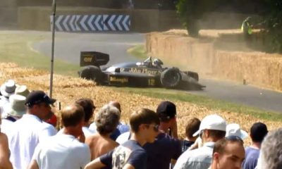Rare Lotus F1 Car Crashed At Goodwood Festival [video]