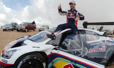 "Sebastien Loeb has conquered the ""race to the clouds"""