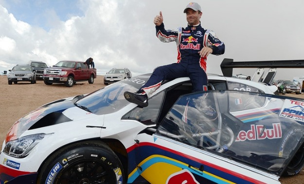 """Sebastien Loeb has conquered the """"race to the clouds"""""""