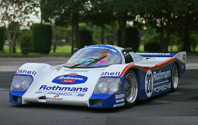 Street-legal Group C racer