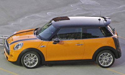 2014 Mini Cooper S side view